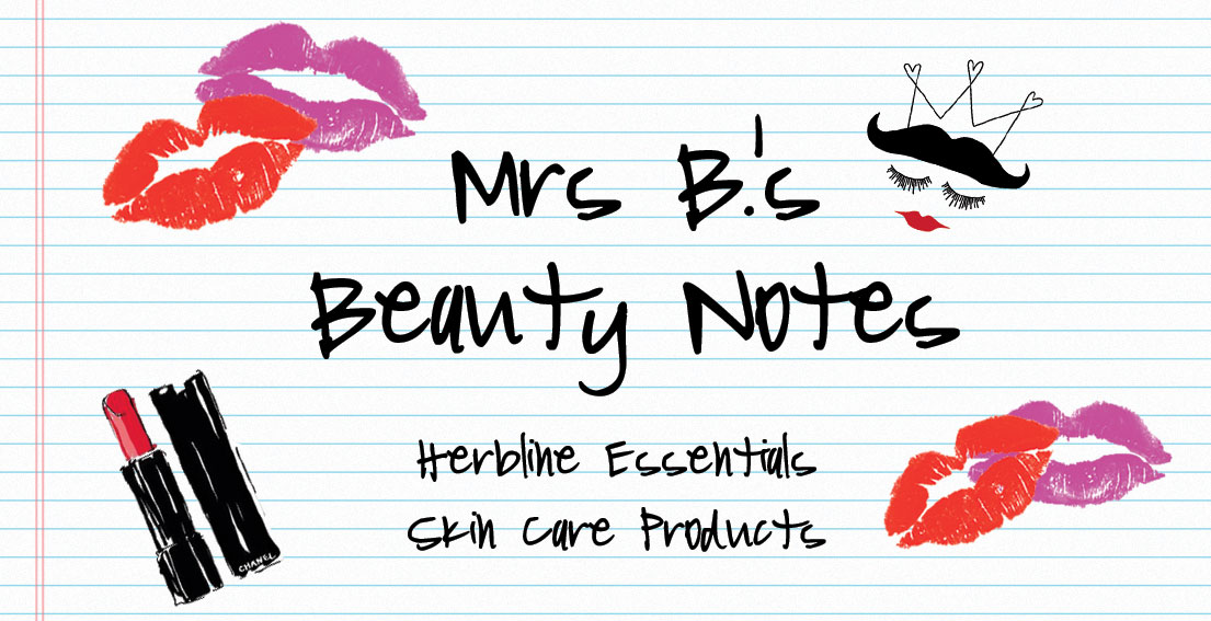 Beauty Notes – Herbline Essentials Skin Care