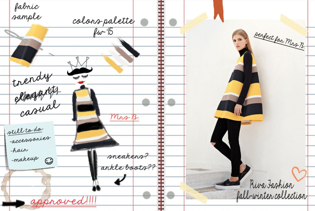 fashion sketches riva