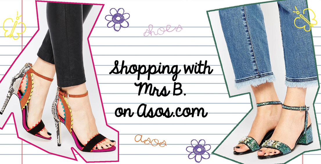 Shopping With Mrs B. – Asos Shoes