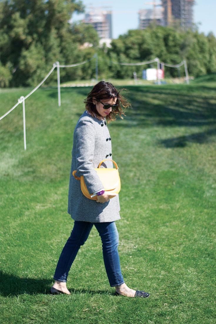 Qatar Masters: Zara Coat and Celine Bag - www.bonjourchiara.com