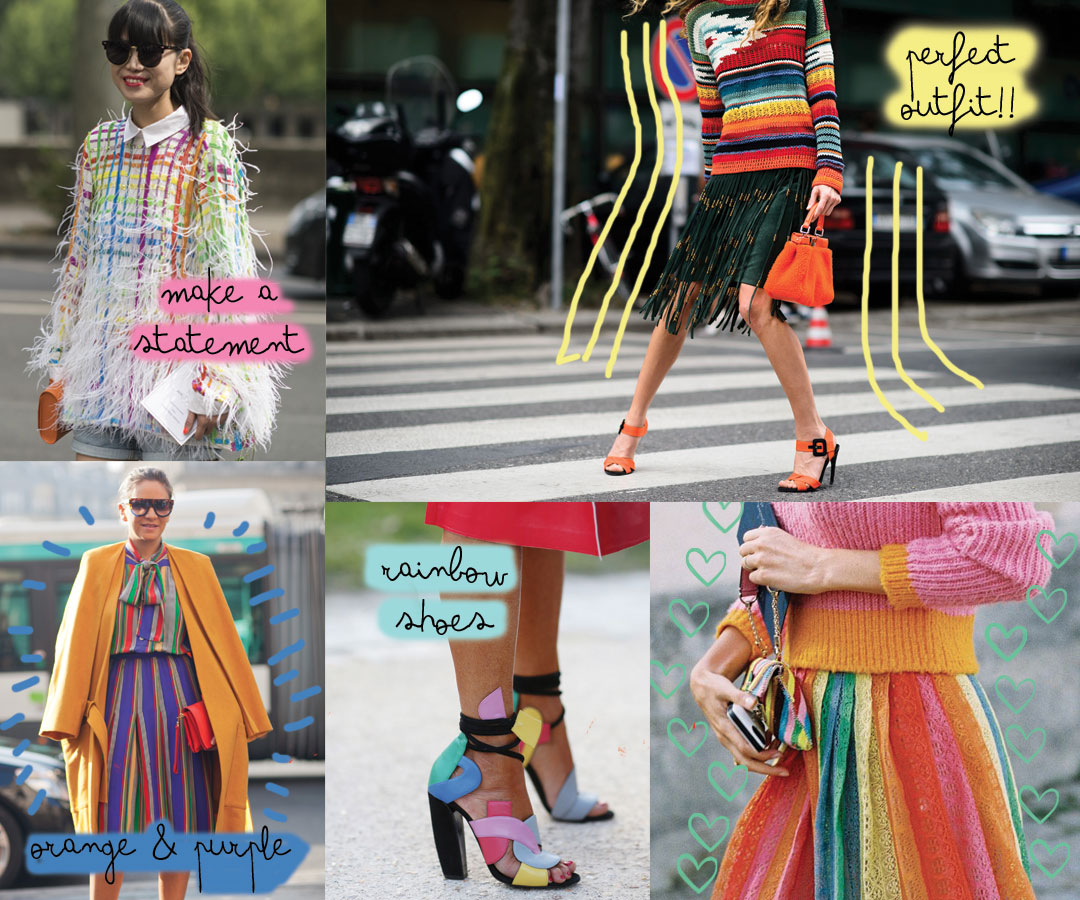 The rainbow stripes trend you need for March - www.bonjourchiara.com