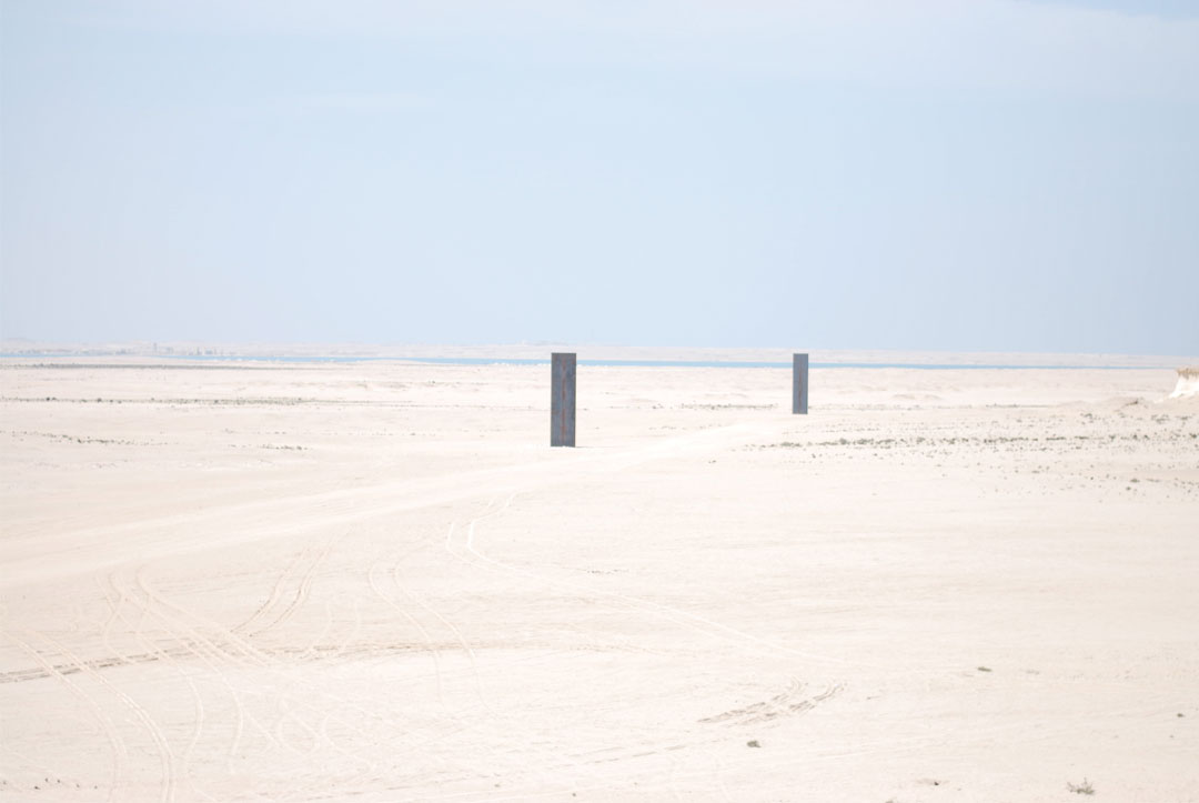 What to visit in Doha: Richard Serra, Zekreet and Film City - www.bonjourchiara.com