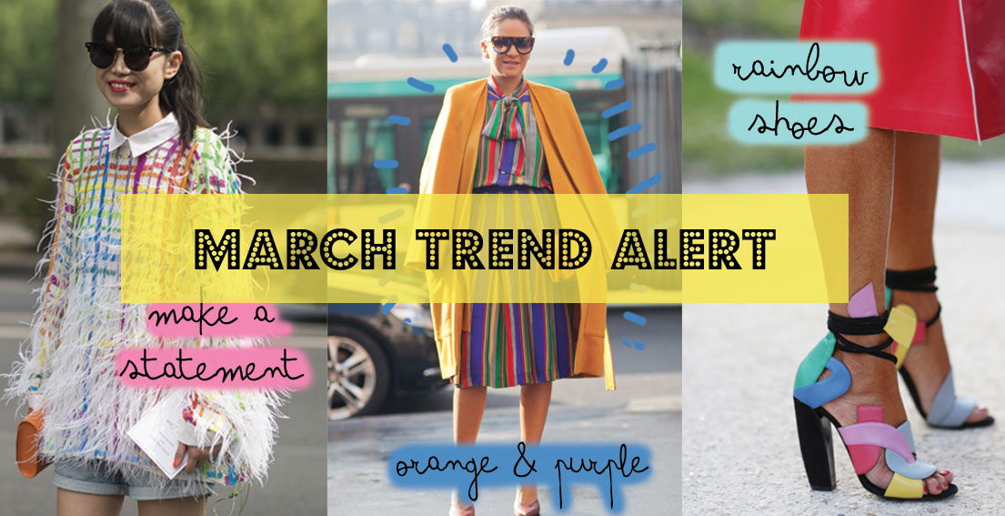 Rainbow Stripes: The Trend You Need For March