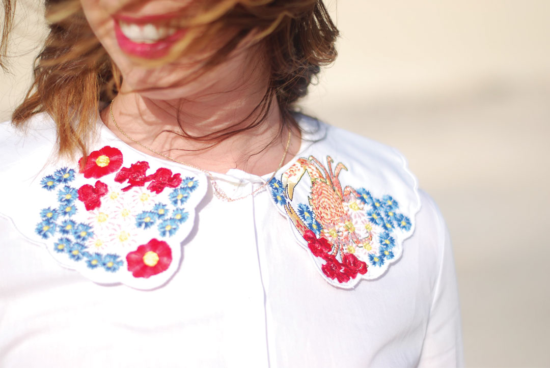 Andrea Official brings the maxi collars back! - www.bonjourchiara.com