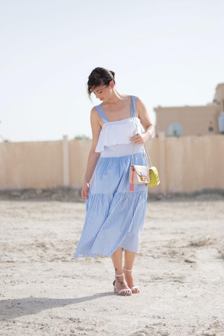 #OOTD: Zara Dress + Furla Metropolis Bag - www.bonjourchiara.com