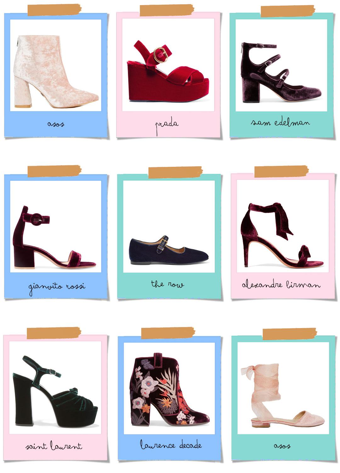 Bonjour Chiara Loves // Trend Alert FW16 Velvet Shoes - www.bonjourchiara.com