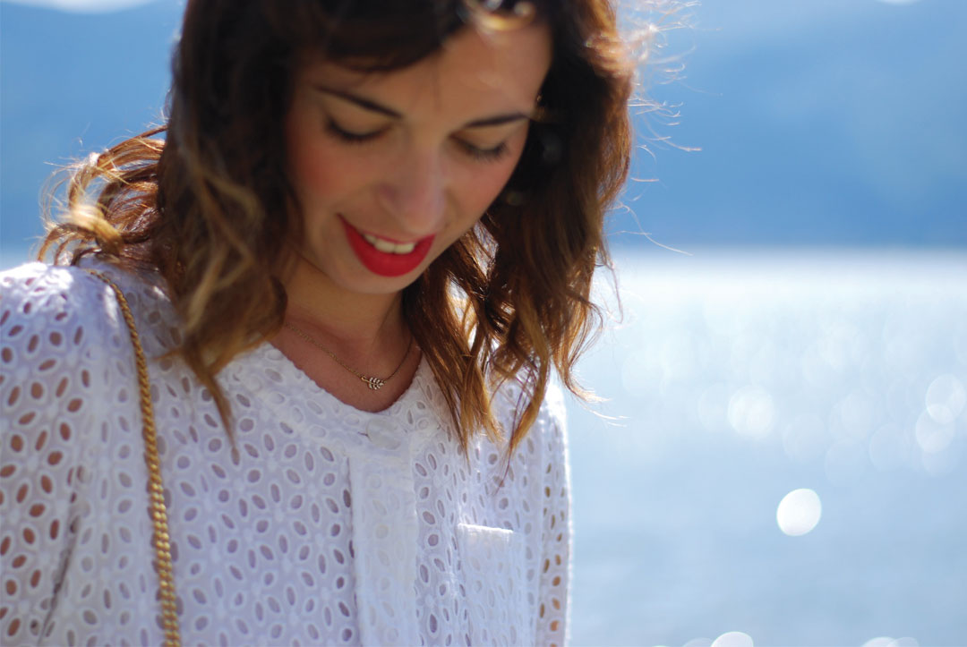 Bonjour Chiara Wears // See By Chloè Little White Dress - www.bonjourchiara.com
