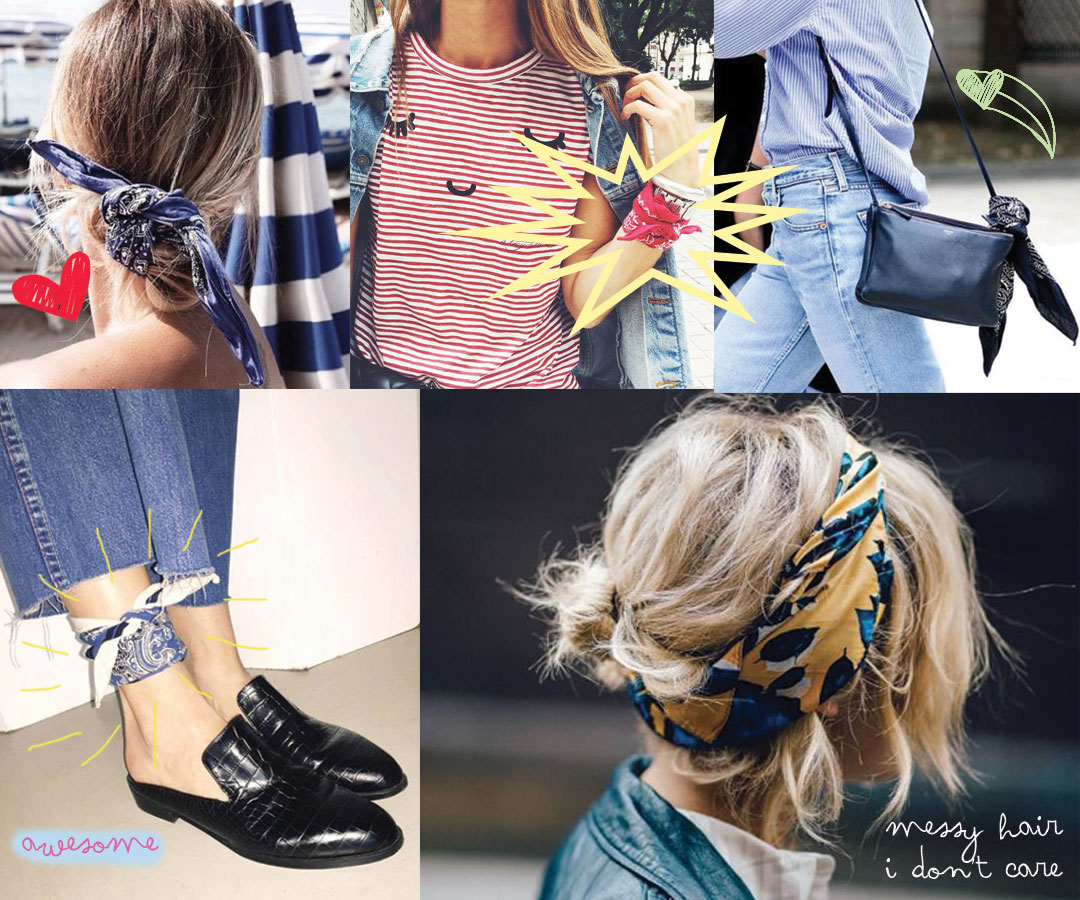 Bonjour Chiara Loves // 3 Fashion Trends I Discovered This Week // Bandanas - www.bonjourchiara.com