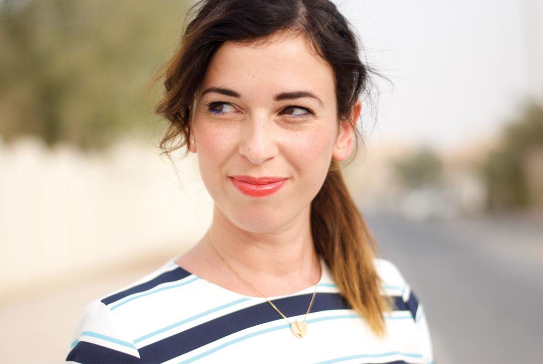 Bonjour Chiara Style // Zara Striped dress - www.bonjourchiara.com