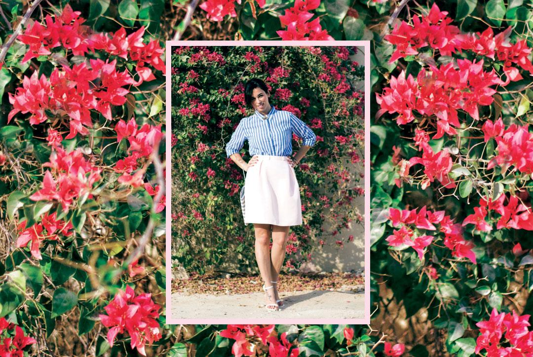 Bonjour Chiara Wears // Flowers + Eye Brooch - www.bonjourchiara.com
