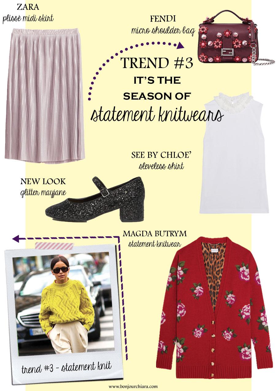 Bonjour Chiara Loves // It's The Season Of Statement Knitwears - www.bonjourchiara.com