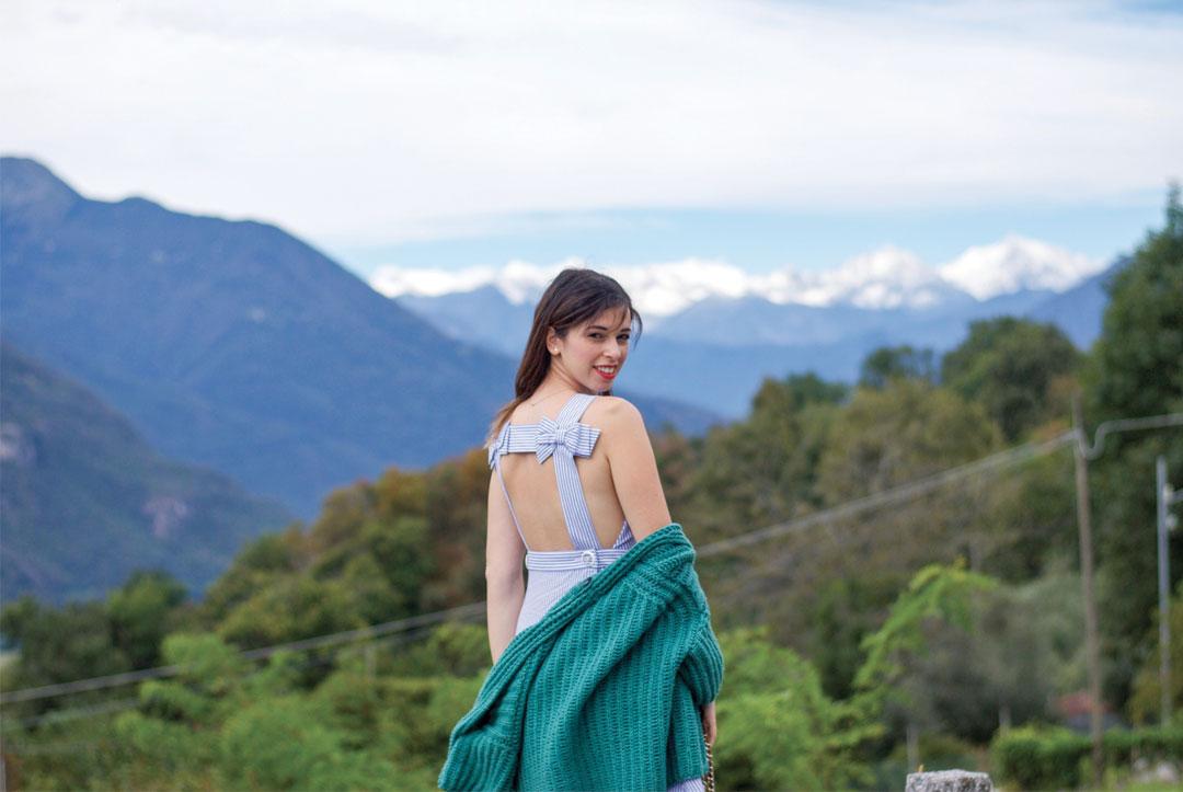 Bonjour Chiara Wears // Claudie Pierlot Dress, MAX&CO. Cardigan - www.bonjourchiara.com