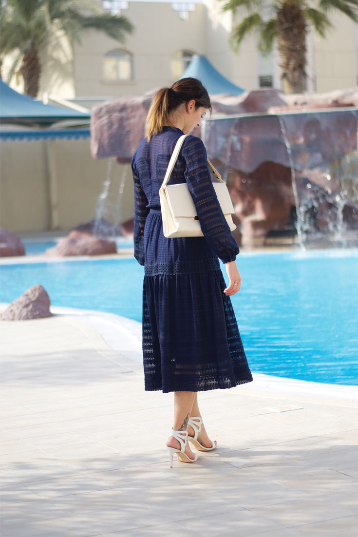 Bonjour Chiara Wears // Karen Millen Dress - Celine Bag - Jasmine Elizabeth Shoes