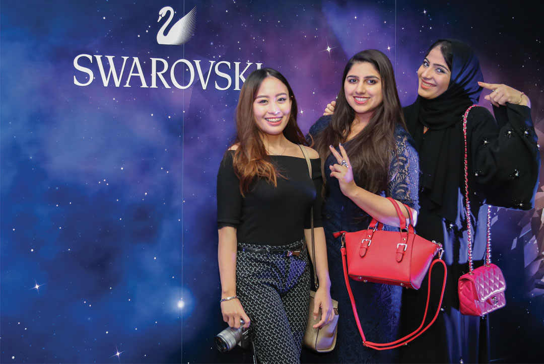 Bonjour Chiara Loves // Swarovski Fall Winter 2016 collection - Doha Event www.bonjourchiara.com