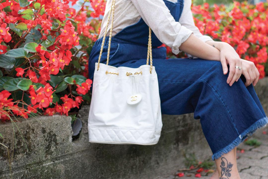 Bonjour Chiara Wears // Zara Denim Overall - Chanel Bucket Bag www.bonjourchiara.com