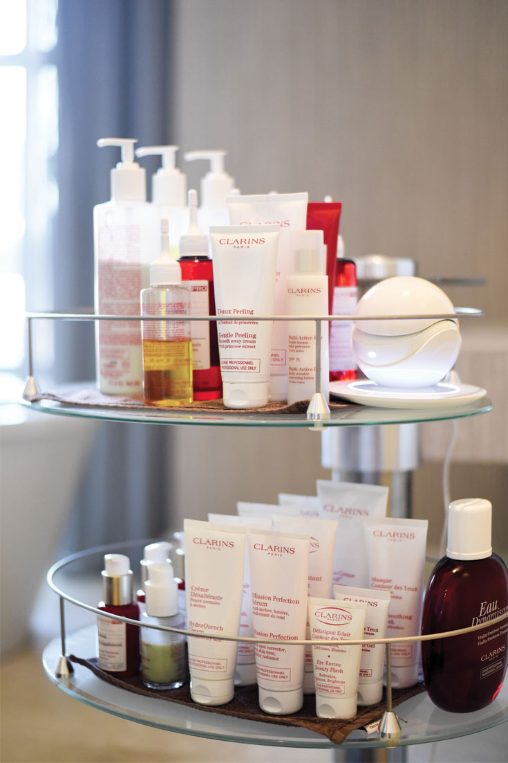 Bonjour Chiara Beauty // Facial Treatment at Clarins Spa - Kempinski The Pearl Doha www.bonjourchiara.com
