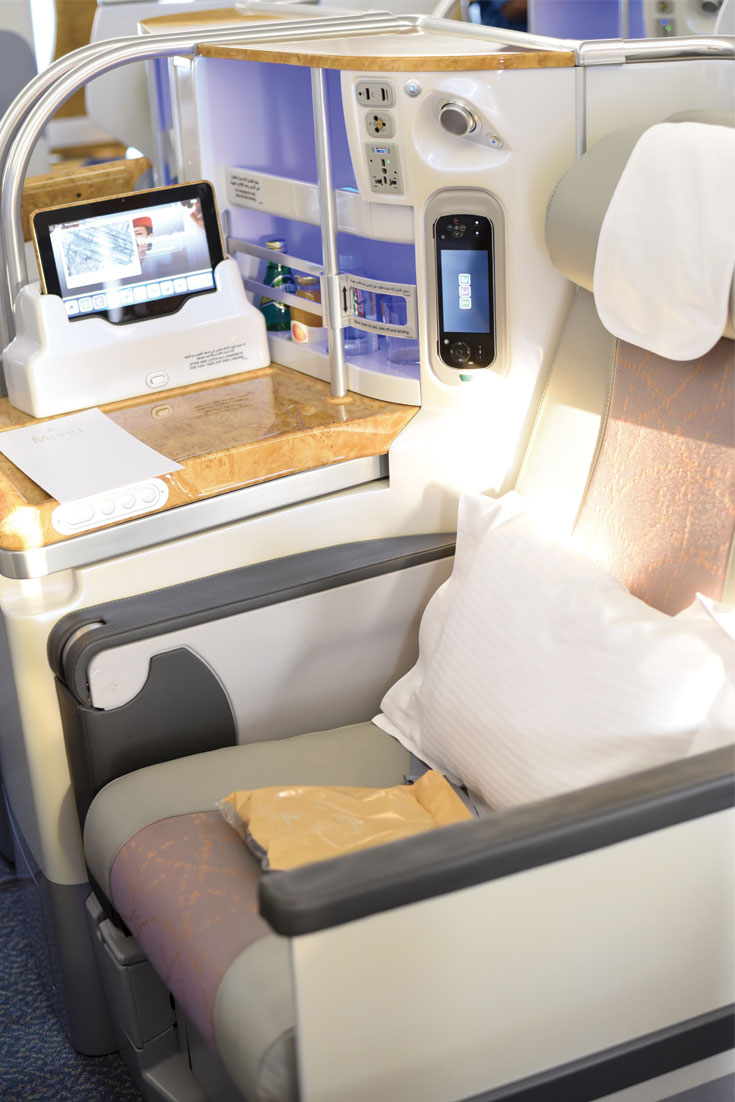 Bonjour Chiara Travels // Emirates A380 - Dubai Doha www.bonjourchiara.com