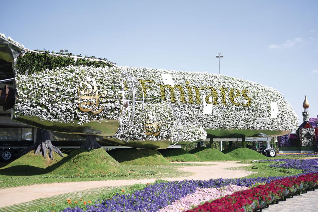 Bonjour Chiara Travels // Dubai Miracle Garden www.bonjourchiara.com