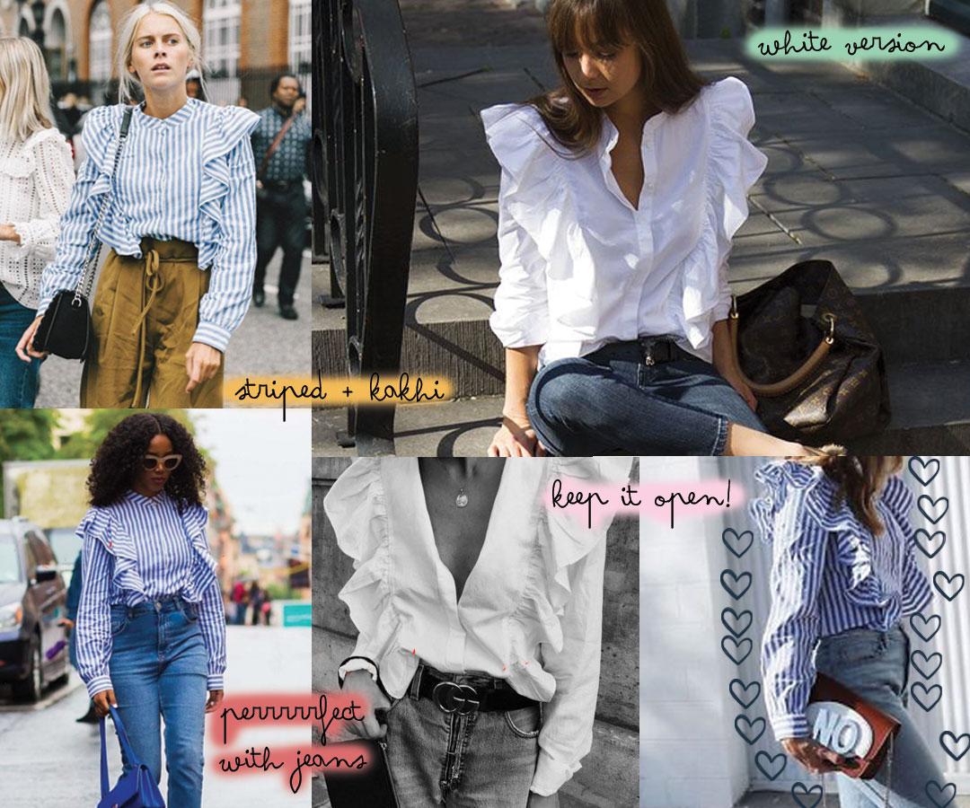 Bonjour Chiara Loves // H&M Striped Shirt www.bonjourchiara.com