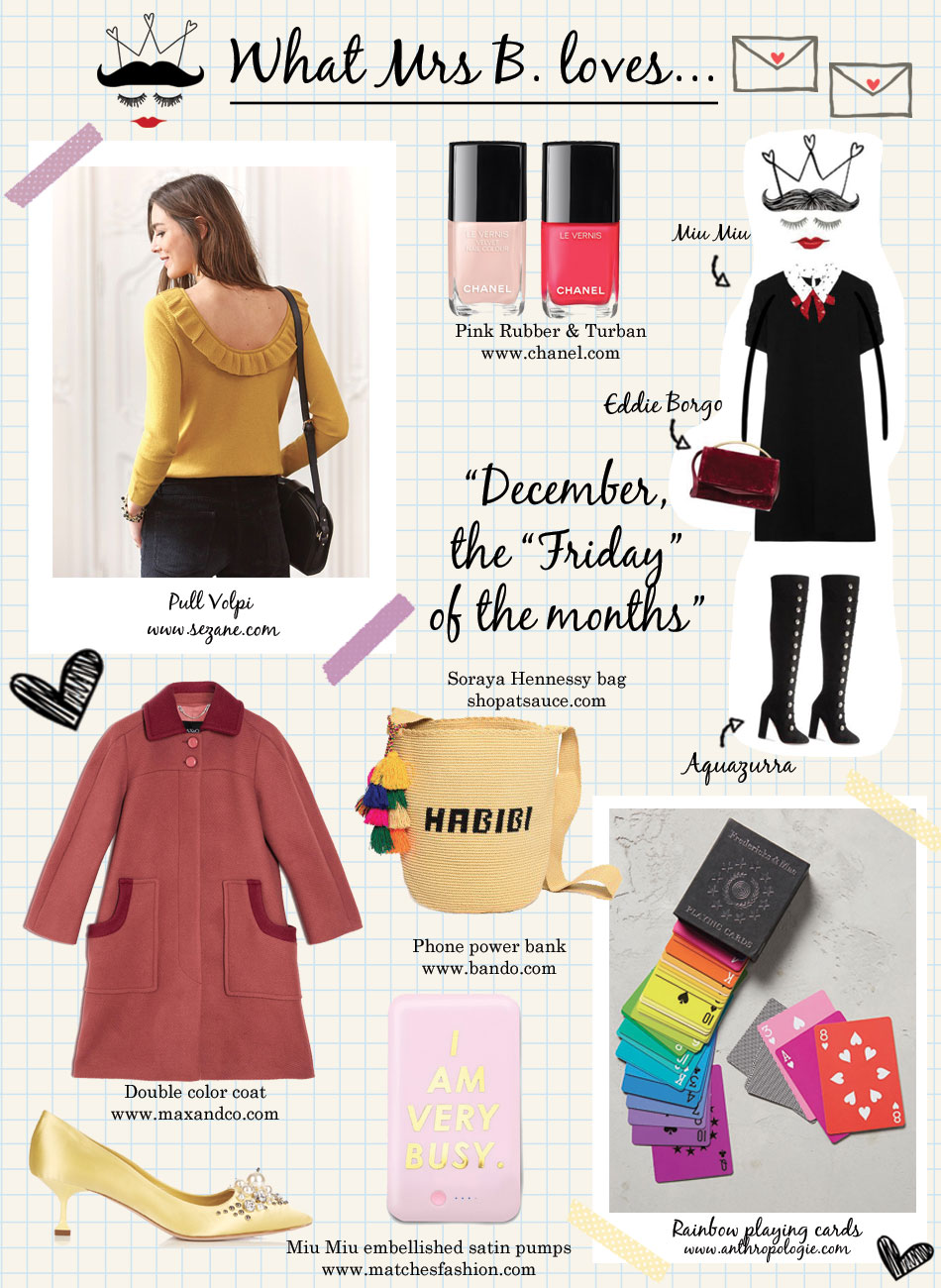 Bonjour Chiara Loves // 8 Things To Buy In December - www.bonjourchiara.com