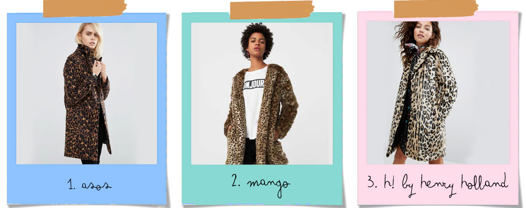 Trend Alert // The best coats to buy now: leopard coat