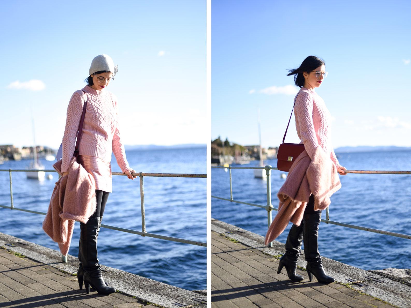 Bonjour Chiara Wears // My Secret To Looking Chic In The Cold www.bonjourchiara.com