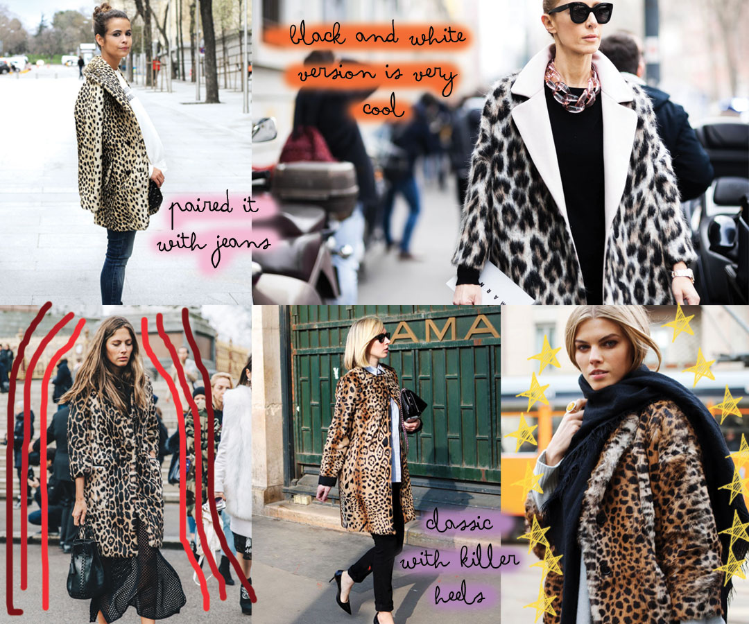 Trend Alert // The best coats to buy now and how to wear them: leopard coat www.bonjourchiara.com