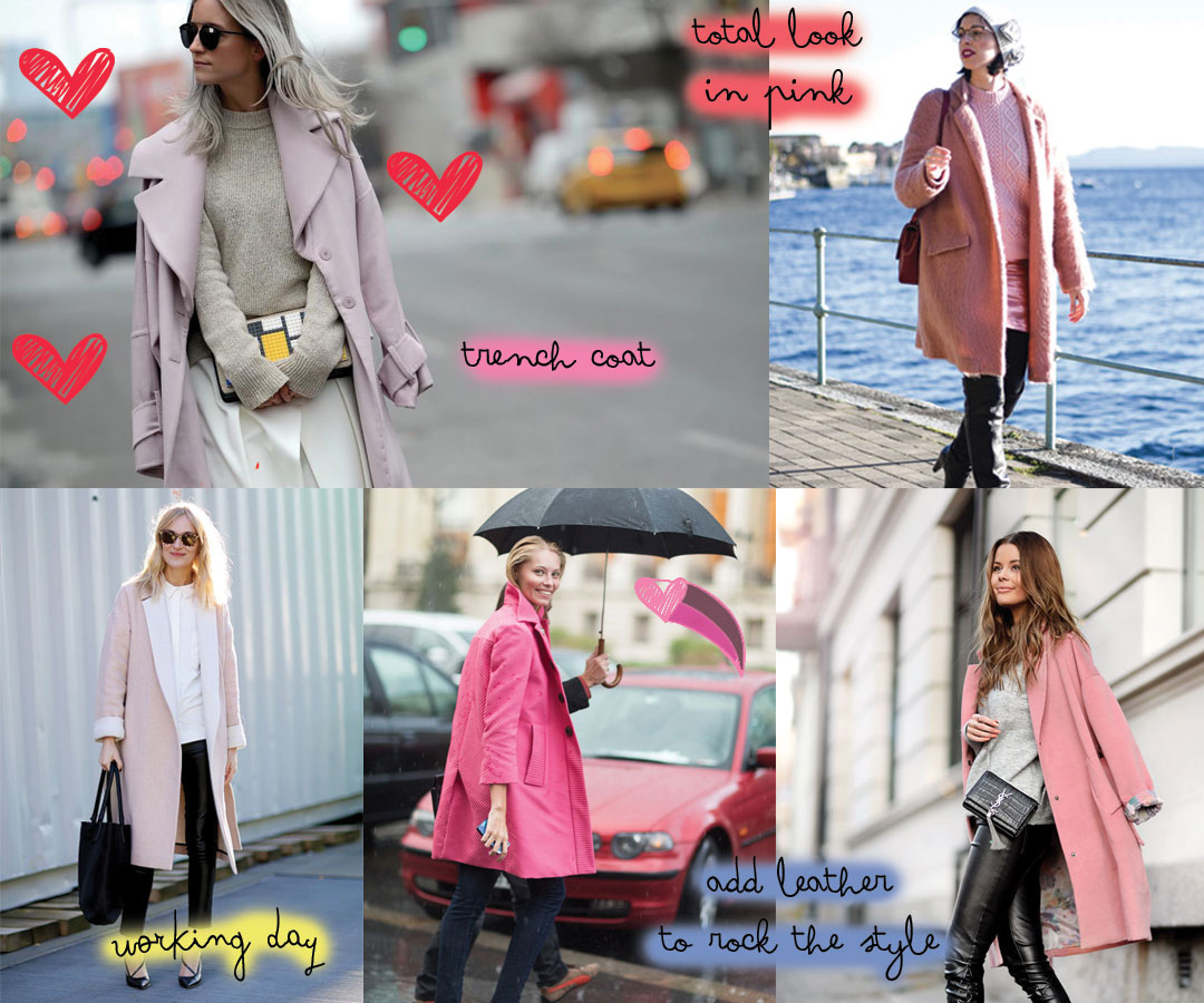 Trend Alert // The best coats to buy now and how to wear them: pink coat www.bonjourchiara.com