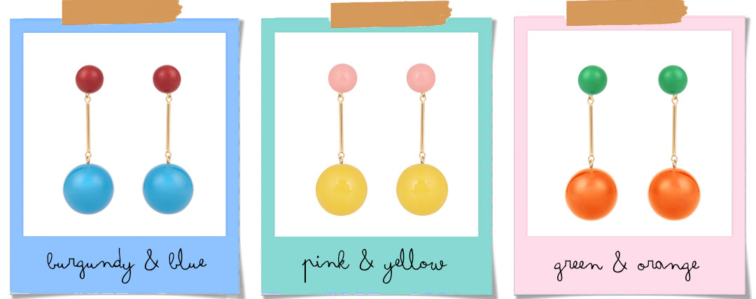 Bonjour Chiara Loves // Statement Earrings: 5 brands you should know - J.W. ANDERSON earrings