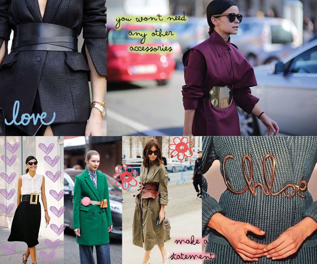 The Fashion Reporter Suggests: The Statement Belt
