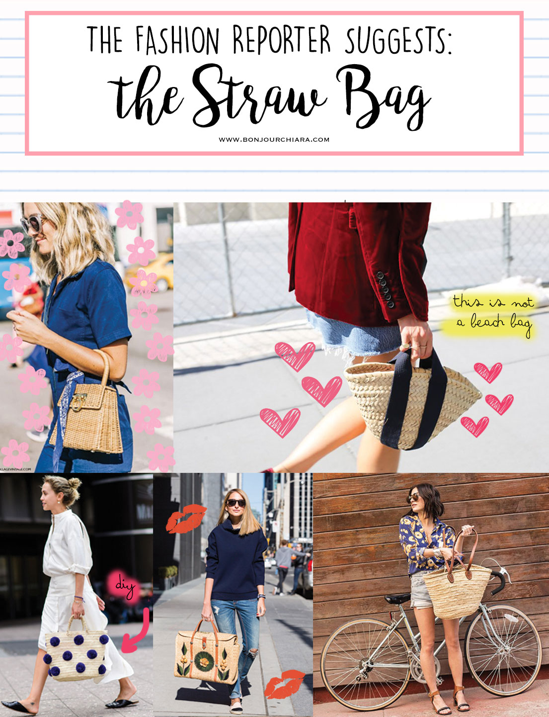 These 12 Straw Bags Are Not For The Beach