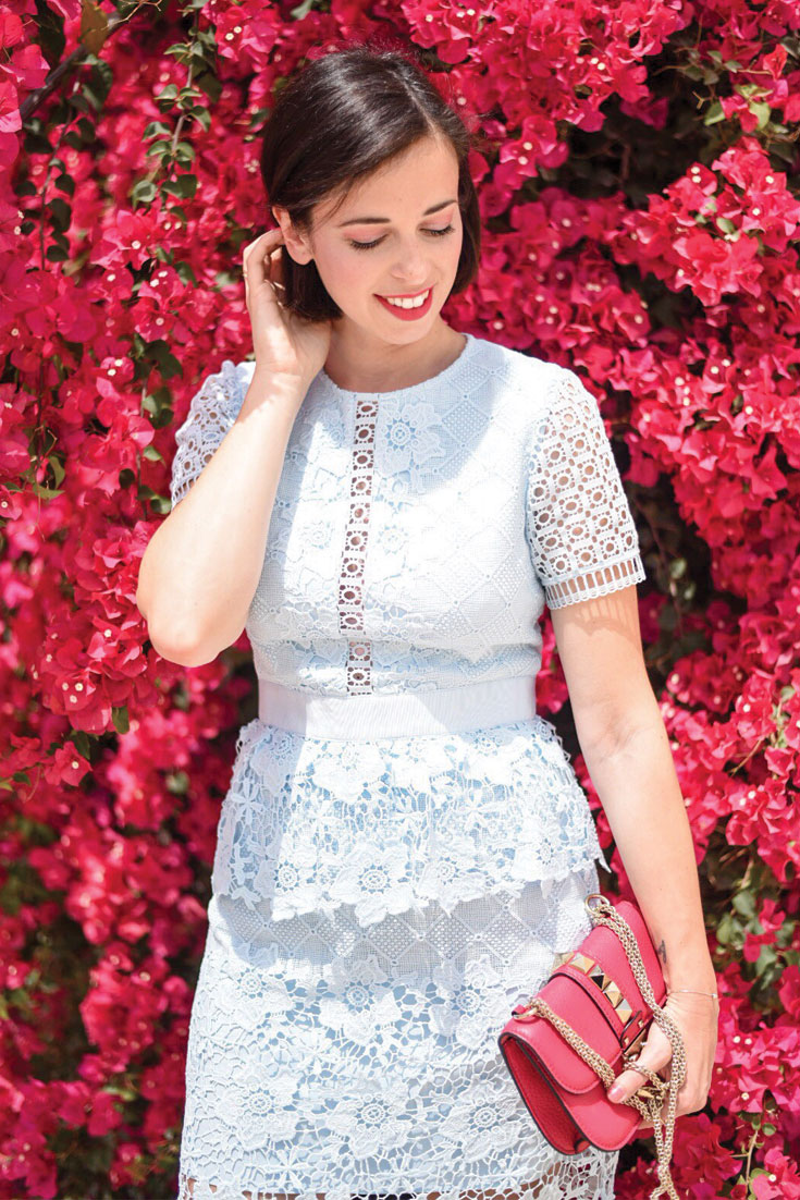 Bonjour Chiara Wears // Ted Baker Lace Dress