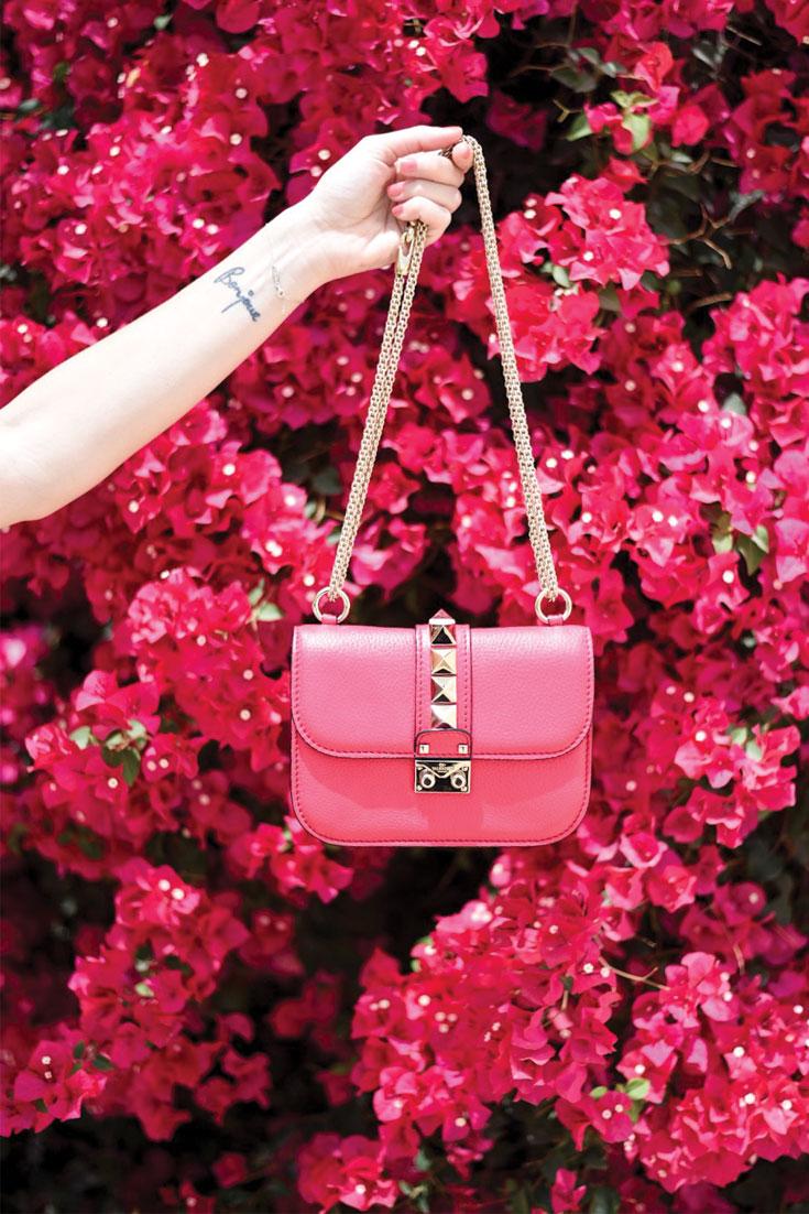 Bonjour Chiara Wears // Valentino Rock Studs Bag