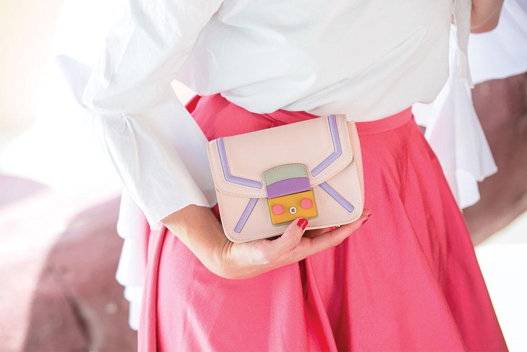 Bonjour Chiara Wears // FURLA METROPOLIS BAG
