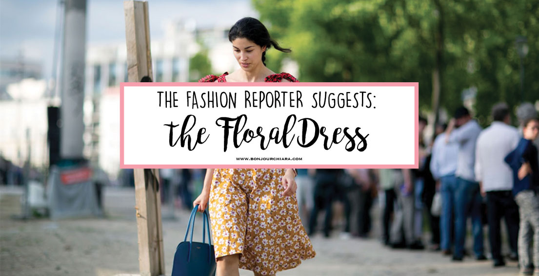 Bonjour Chiara Loves // A roundup of 18 floral dresses to buy now