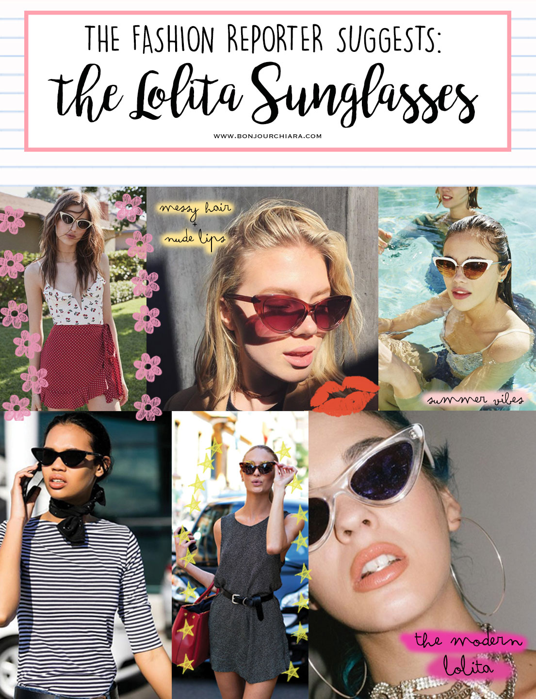 Trend Alert: The Lolita Cat Eye Sunglasses