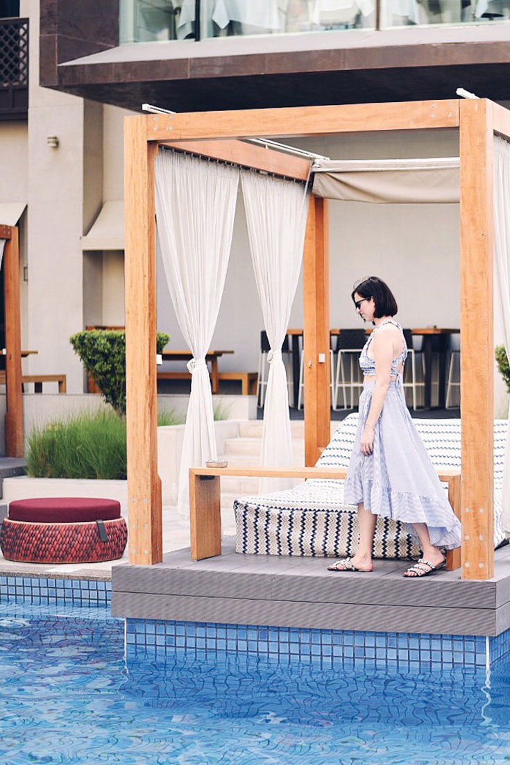Bonjour Chiara in Dubai // Staycation at Vida Downtown Dubai