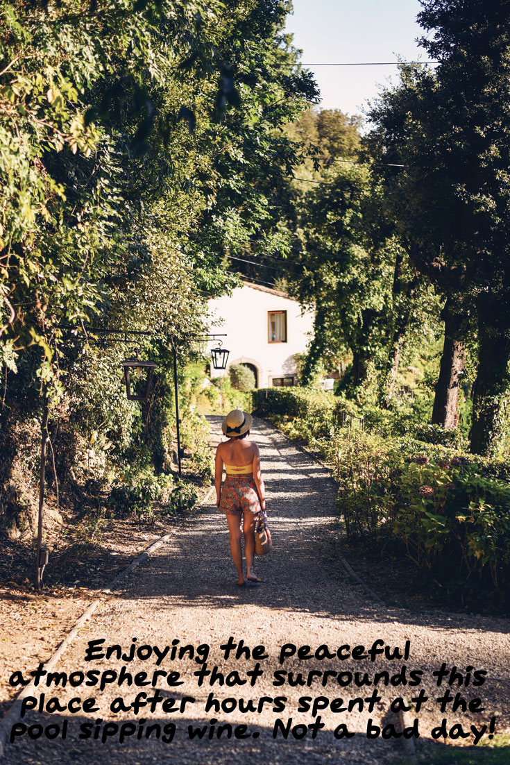 Three days spent in Tuscany, staying at Belmond Villa San Michele, eating good food and drinking amazing wine!