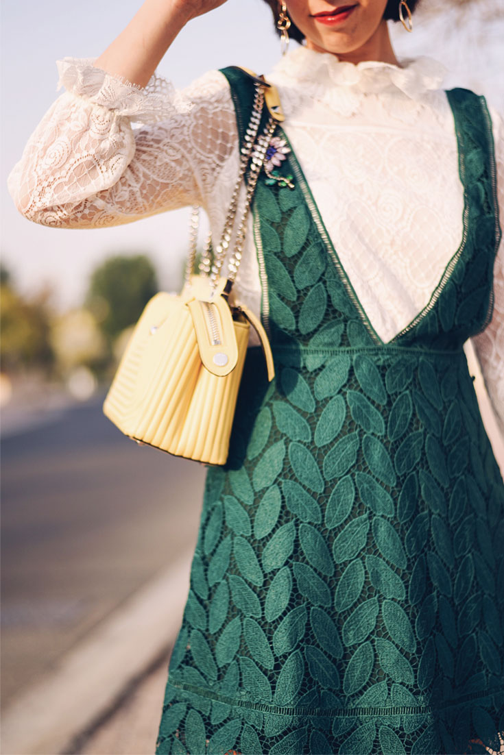 How to wear a summer dress during Fall season - Bonjour Chiara
