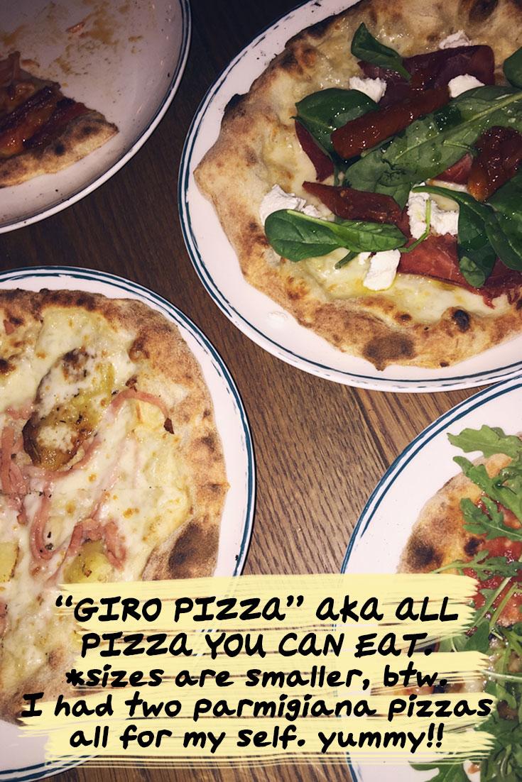 What Bonjour Chiara did this week #4 - Italian dinner at MATTO, Dubai Marina, Kite Beach