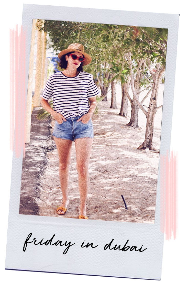 It's beach time // Friday at Kite beach and lunch at Park House #mydubai