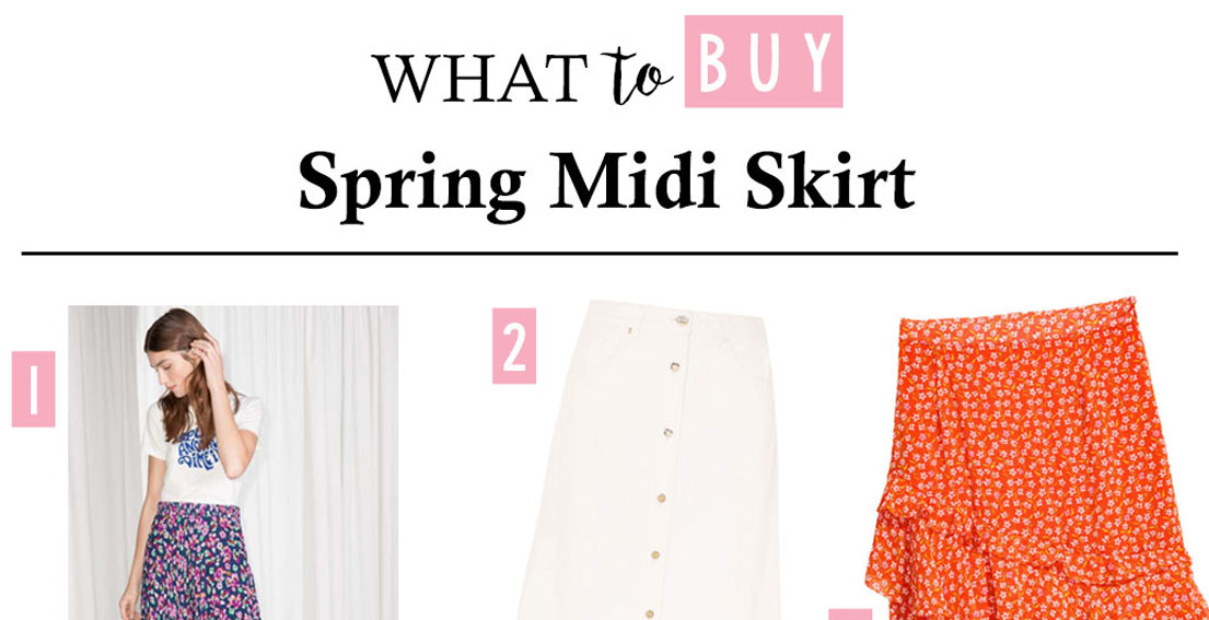 Downloading Spring Midi Skirts