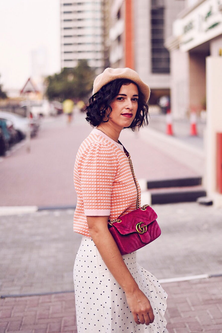 Why I don't let trends to define my personal style - #polkadot #jcrew #guccimarmont