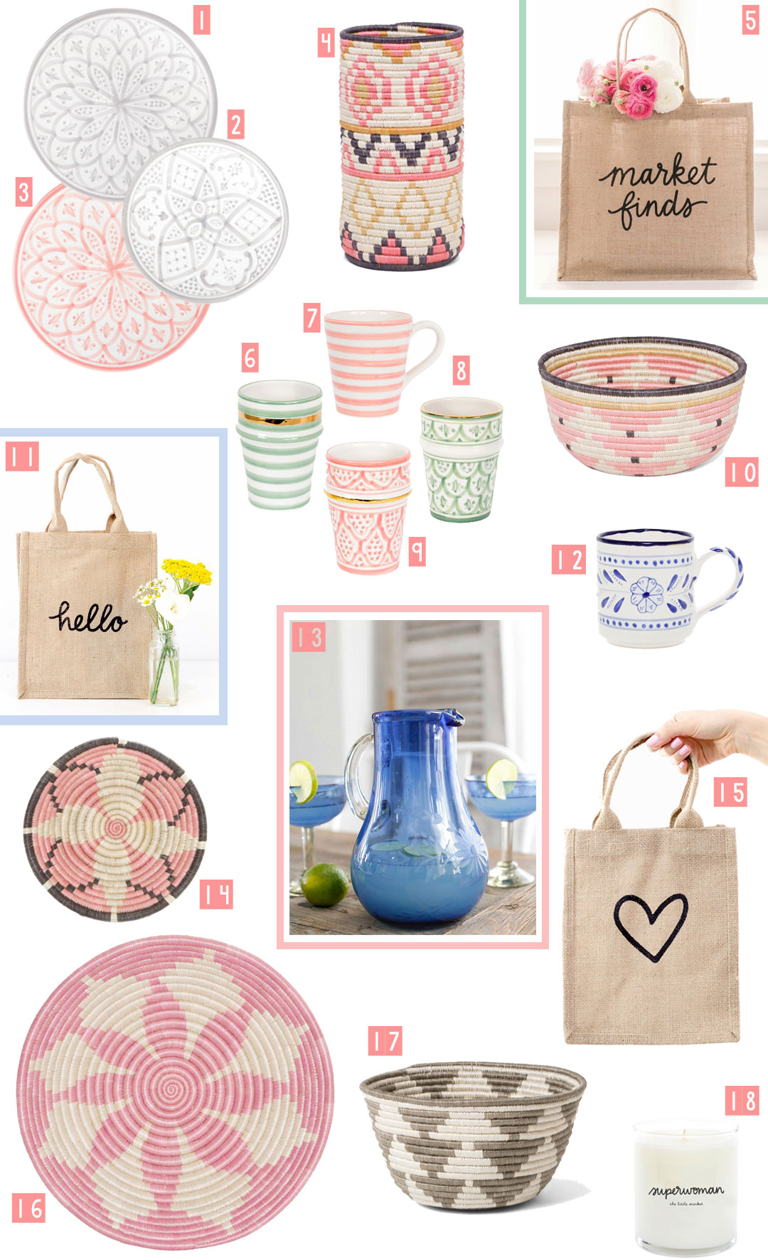 Home Wishlist from The Little Market