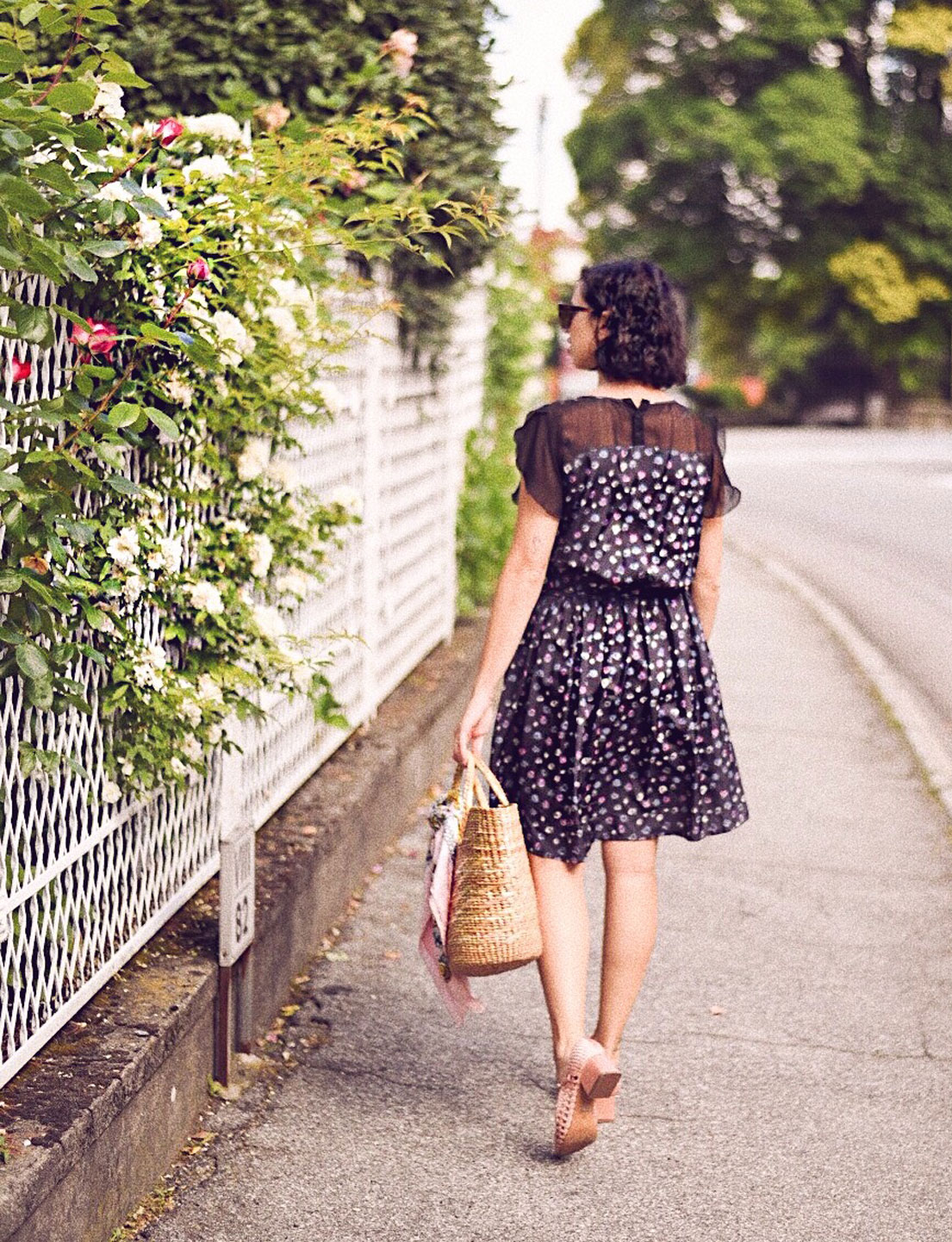 A Romantic Floral Dress