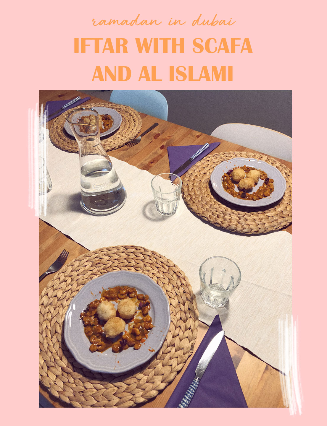 Special Iftar With SCAFA and Al Islami