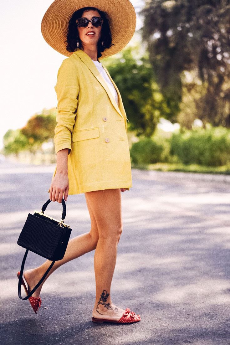 Mango summer suit and Jira python bag #summerlook #linen #summersuit