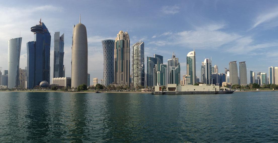 An Italian Girl In Doha