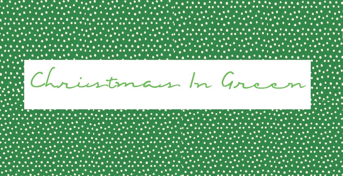 Christmas In Green