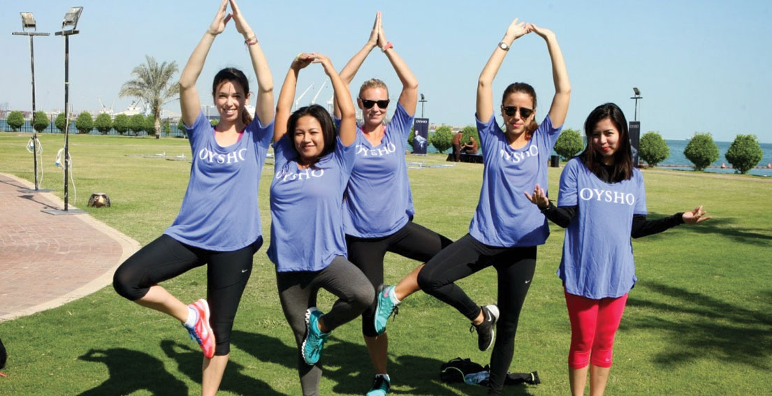 Oysho Yoga Day – Doha